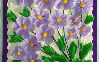 Красивые поделки из цветов. Весенние поделки в садик