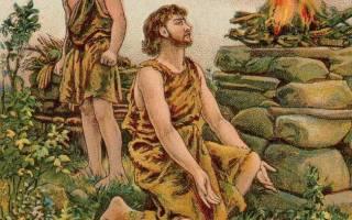 Авель и Каин: история одного преступления. Каин: история персонажа