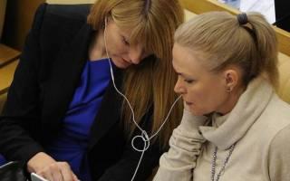 Женщины депутаты гд. Самые активные женщины в госдуме