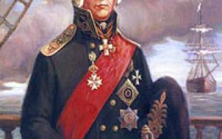 История жизни. Адмирал Федор Ушаков – святой праведный воин Феодор