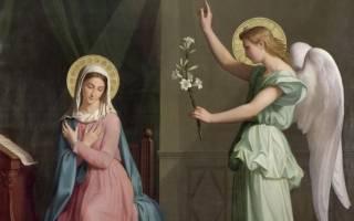 Имена родителей богородицы марии. Непорочная Дева Мария: житие