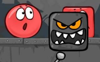 Красный шарик 6 играть онлайн. Красный шар