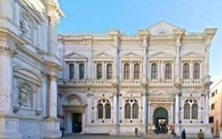 Венеция создание города. Исторические достопримечательности венеции на карте