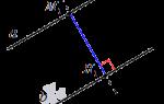 Как находить расстояние между прямыми. Параллелограмм