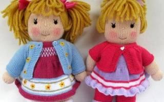 Руководство по вязанию куклы попика спицами. Вязаные куклы спицами Dolls.