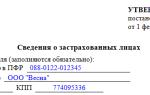 Форма СЗВ-М — ежемесячная отчетность в ПФР. Инструкция по заполнению сзв-м