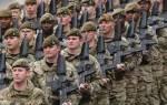 Рейнская армия. Сухопутные войска великобритании