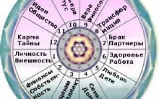 Астральные дома в гороскопе. Дома гороскопа (натальной карты)