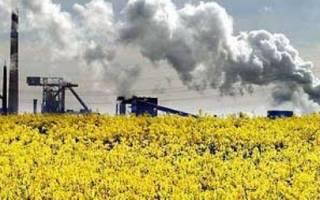Германия. Экологические проблемы промышленности