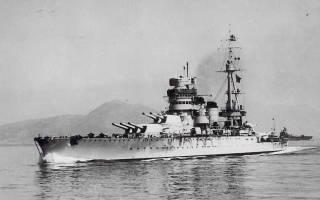 Вмф италии. Итальянский флот во второй мировой войне