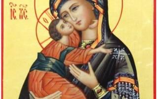 Молитва владимирской божьей матери. Молитва Владимирской иконе Божией Матери