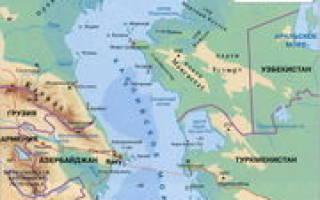 Какие крупные реки впадают в каспийское море. Каспийское море озеро