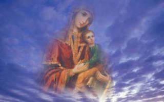 Сильнейшие молитвы пресвятой богородице. Молитвы богородице