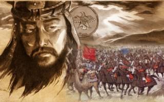 Чингисхан биография. ThePerson: Чингисхан, биография, история жизни, факты