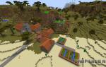 Как увеличить деревню в minecraft. Как сделать в майнкрафте деревню