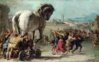 Дары данайцев. Троянский конь