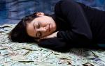 К чему снится деньги на столе. К чему снятся деньги, особенно крупные
