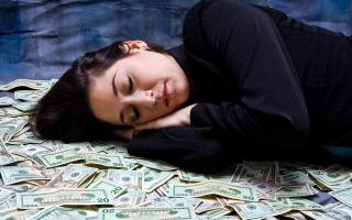 Приснились деньги бумажные крупные к чему. Толкование сна