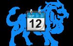 Знак лев с какого по какое число. Знаки зодиака по месяцам и дате рождения