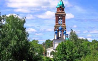 История названия города юрьев польский. Никитская и покровская церкви