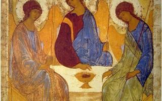 Что обозначает икона святой троицы. Троица: какая икона «правильная»